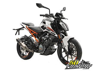 fiche technique ktm duke 125cc depuis 2017. Black Bedroom Furniture Sets. Home Design Ideas