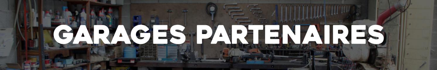 carte de nos garages partenaires